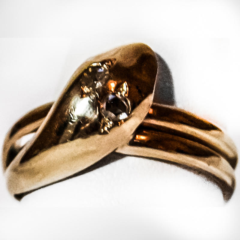 Gold Snake Ring